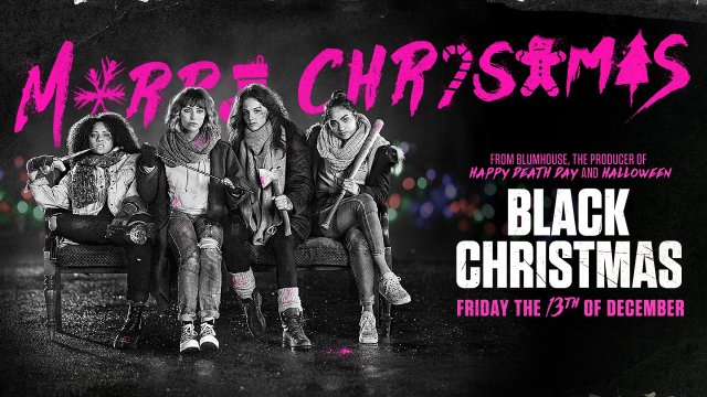 Christmas just got killer. See #BlackChristmas today!