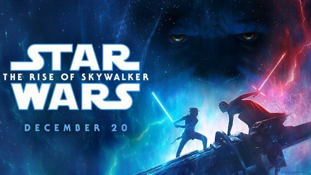 STAR WARS: THE RISE OF SKYWALKER now playing!
