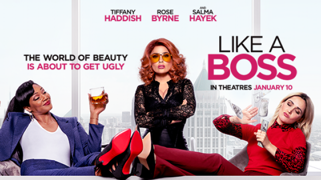 WARNING! #LikeABoss has everything: Strong language, drug use, and coochie cakes. Now playing!
