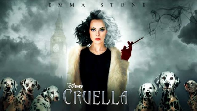 CRUELLA with Emma Stone